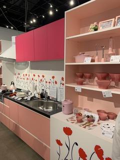 写真�Cピンクのキッチン.JPG